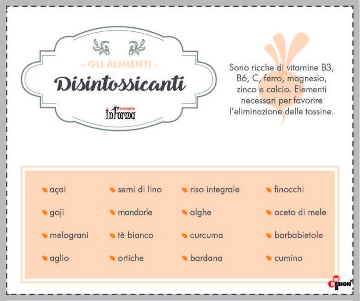 10 secondi di benessere. Scopri gli alimenti disintossicanti http://www.toscanainforma.it/