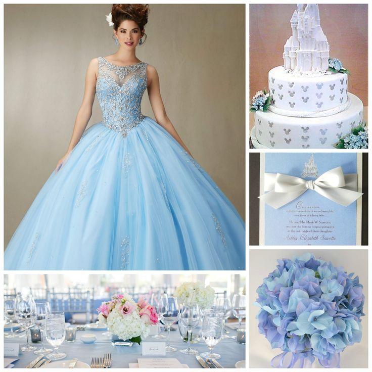 Best 25+ Cinderella Quinceanera Dress Ideas On Pinterest