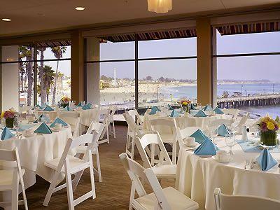Santa Cruz Dream Inn Santa Cruz hotel ocean view wedding location reception venue 95060 | Here Comes The Guide