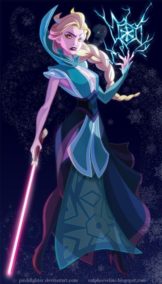 Et si les princesses Disney étaient des personnages Star Wars