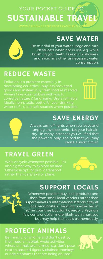 sustainable travel guide - How to travel more responsibly, ethically and sustainably.  travel blog