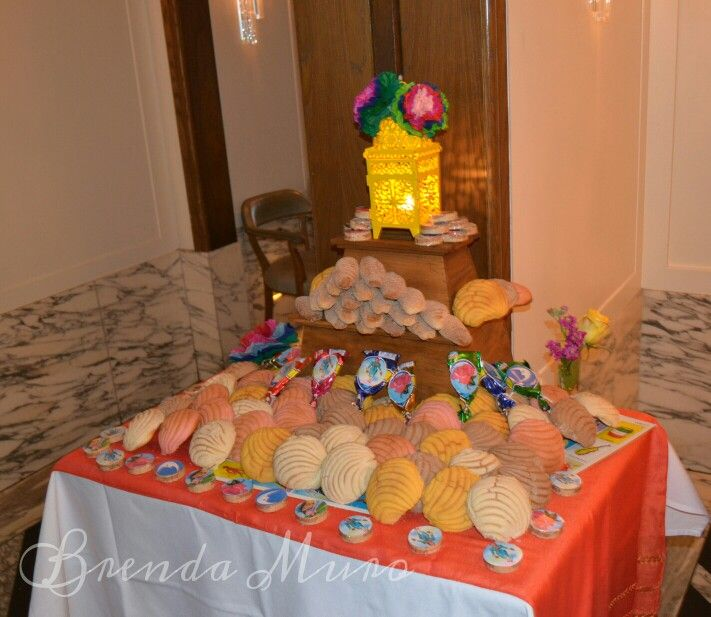Brenda Muro design. Loteria bridal shower dessert table ...