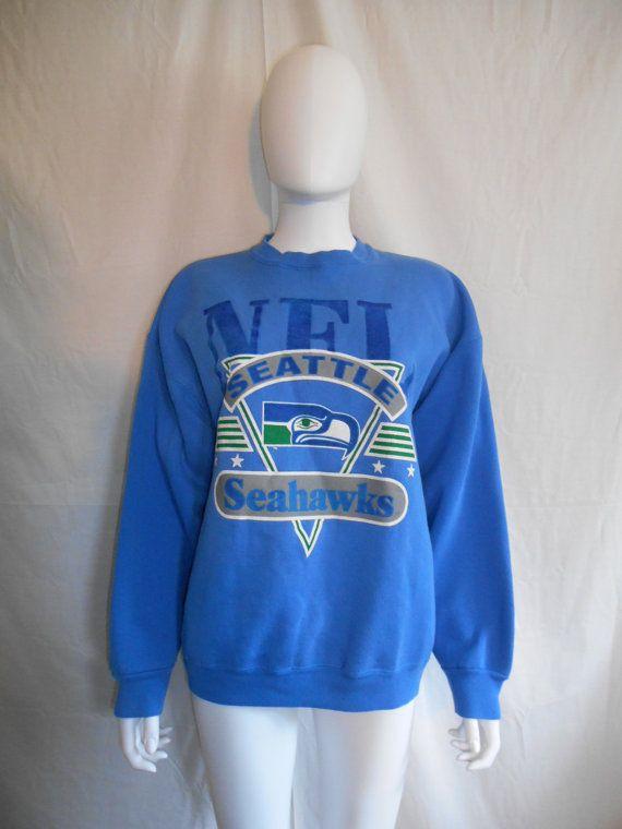 Vintage Seattle Seahawks NFL  sweatshirt by ATELIERVINTAGESHOP