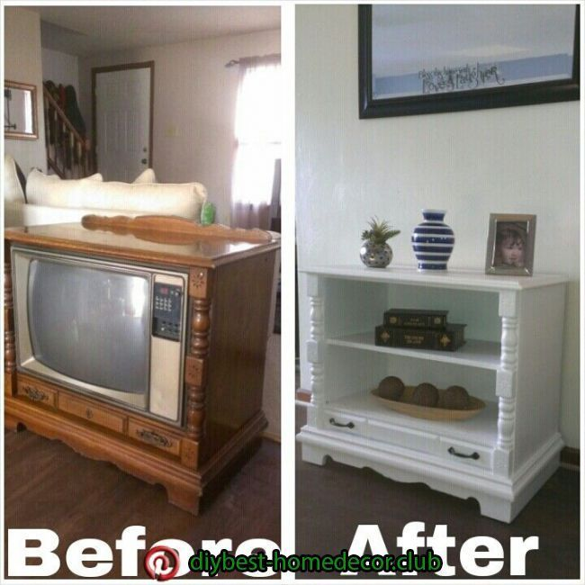 Coolest Repurposed Old Tvs Ideas Craft Coral In 2020 Tv Cabinet Redo Furniture Makeover Vintage Cabinets