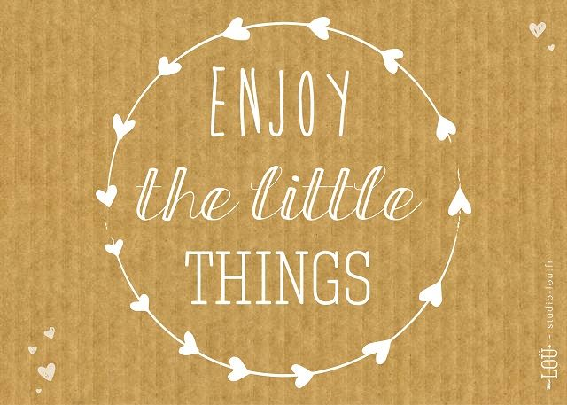 Enjoy the little things / Studio loü pour Hi love magazine