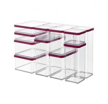 Premiumdose LOFT 2.1l transp./rot   jetzt versandkostenfrei kaufen im Rotho Online-Shop
