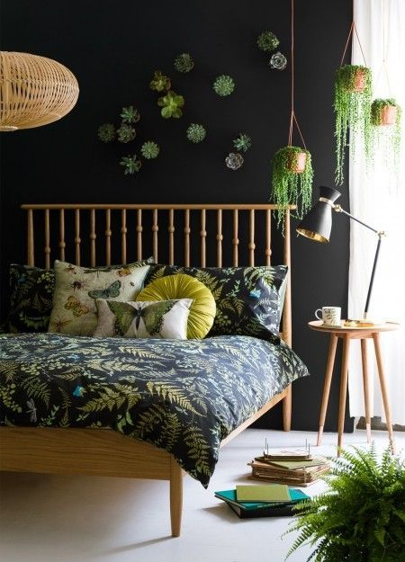 Detail Collective | Interior Spaces | Botanical Decor | Image: Red Magazine Pinterest