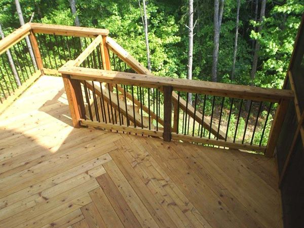Exotic deck woods