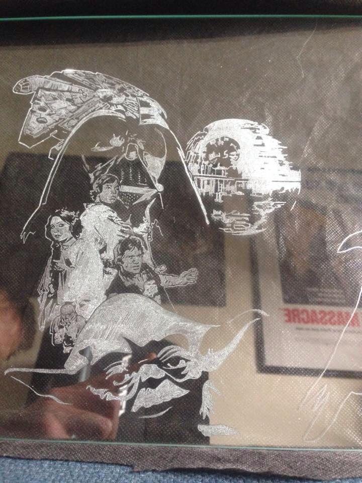 Star Wars engravingsbyhand