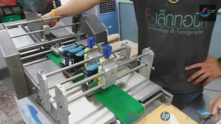 Papger Tags feeding and printing completed solutions by PT Asia Thailand