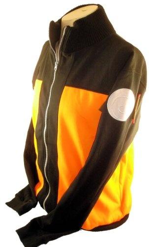 Amazon.com: Naruto Mens Sweatshirt Jacket - Naruto's Cosplay Style Jacket: Clothing