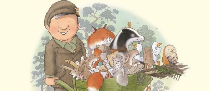 Percy the Park Keeper - illustrated by Nick Butterworth.