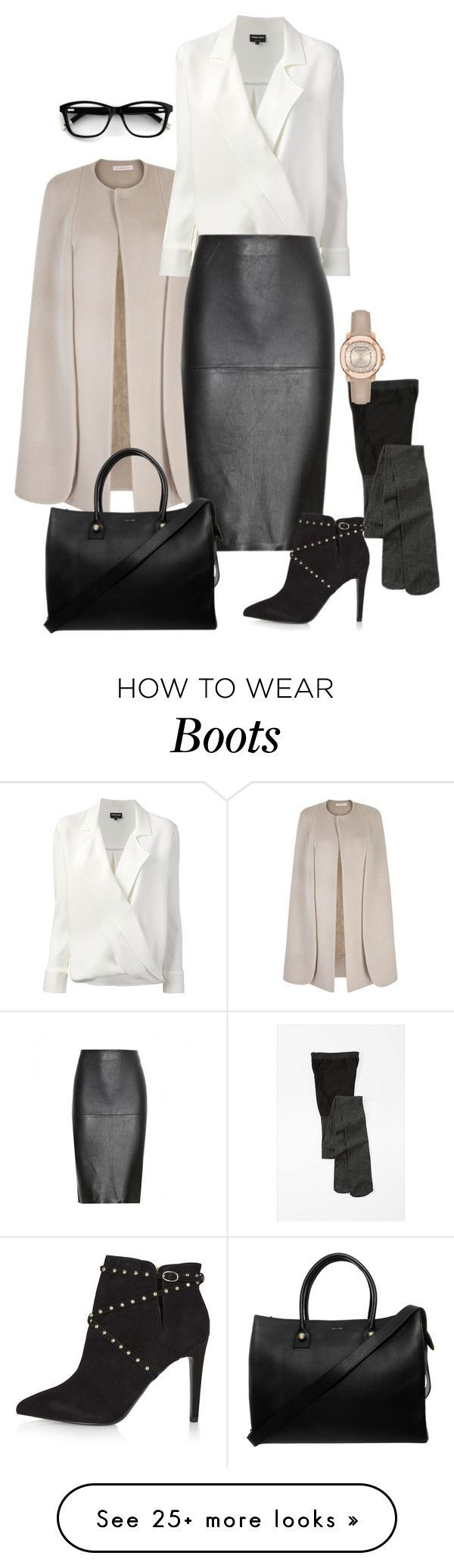 """""""Untitled #166"""" by sandystyle888 on Polyvore featuring Giorgio Armani, By Malene Birger, Topshop, Paul & Joe and Burberry – Skirt The Ceiling 