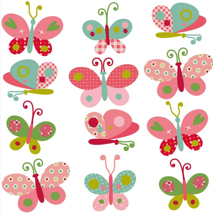 novedades decohappy - - VINILO MARIPOSAS MINI