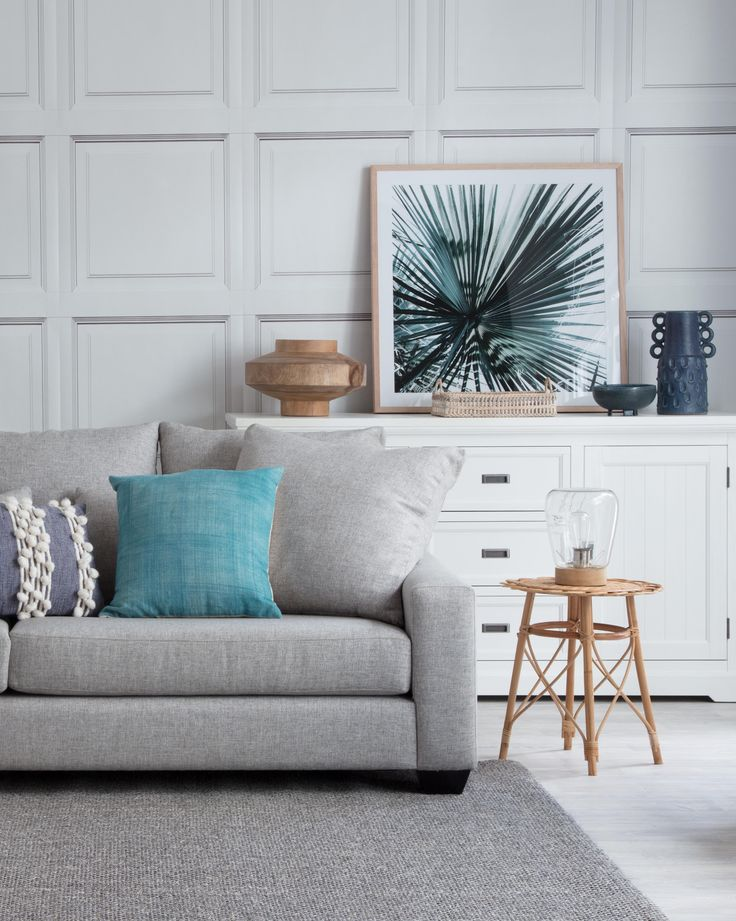 Dallas sofa with Hamptons Buffet