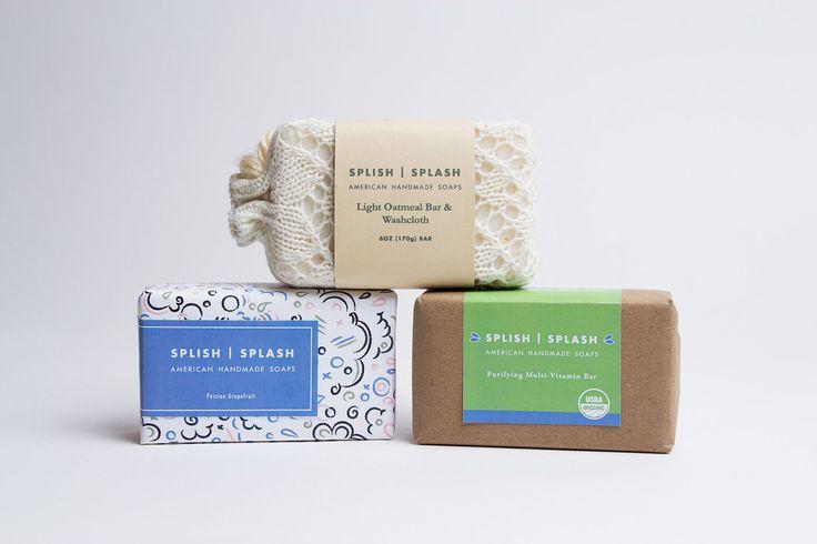 Splish Splash Soap on Behance
