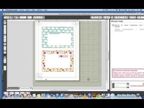 Tuto génial : Faire soi-même se cartes Project life avec Silhouette Studio - YouTube