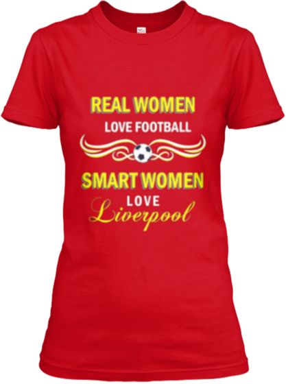 For Women Liverpool Supporters | Teespring
