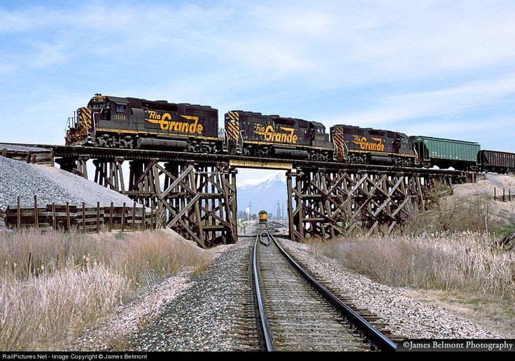 RailPictures.Net Photo: DRGW 3101 Denver & Rio Grande Western Railroad EMD GP40-2 at Payson, Utah by James Belmont