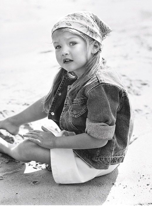 Celebrity Throwback: Gigi Hadid For Baby Guess.