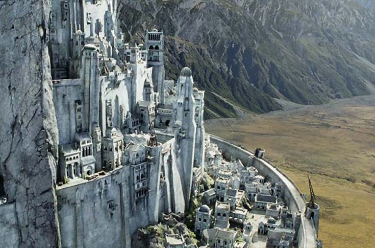 30 day Lord of the Rings Challenge.  Day 2 Favorite location: Minas Tirith.