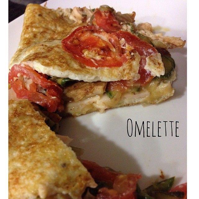 saschafitness El omelette, o cualquier preparación a base de claras de huevo, son una excelente opción para cenar