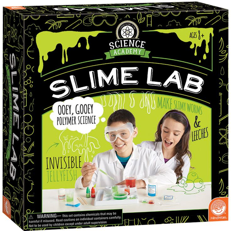 Slime Lab from Science Academy: One of the gifts you can buy to make the holiday of a US child in need or in foster care through Daymaker