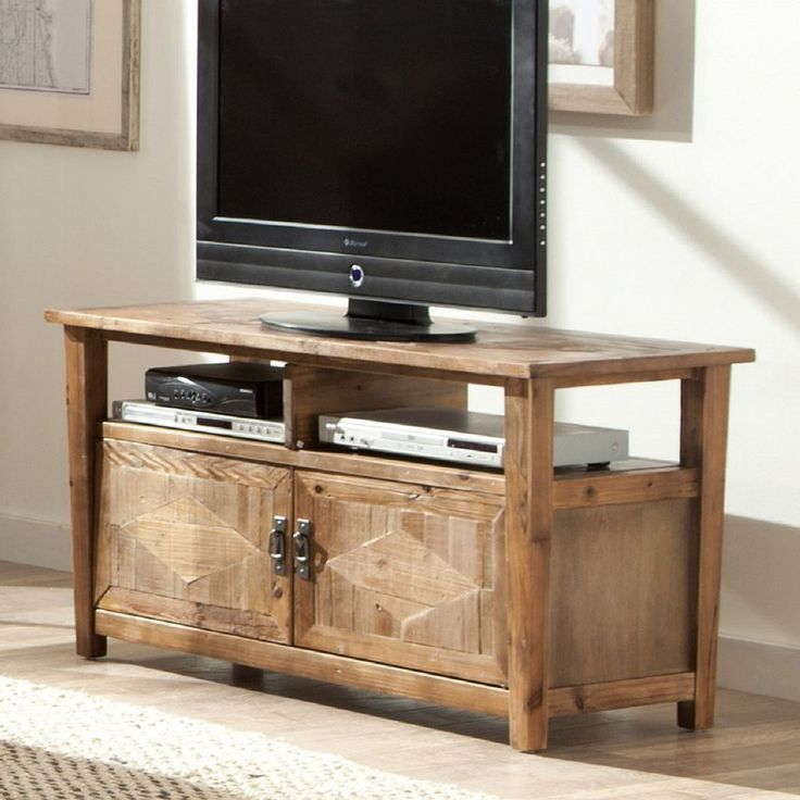 Best 25 Reclaimed Wood Tv Stand Ideas On Pinterest