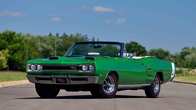 OH boy!!  sigh. ♥ 1969 Dodge Hemi Coronet R/T Convertible The Only Documented 4-Speed Hemi Convertible presented as lot R210 at Kissimmee, FL