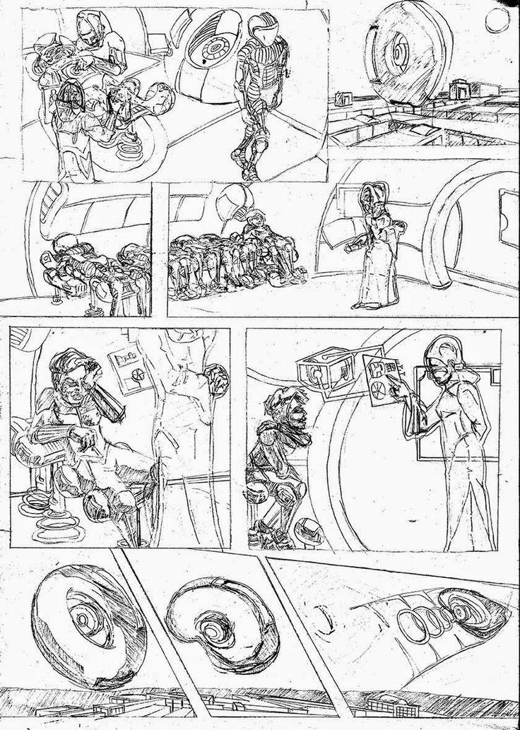 James Mathurin Art: Acquisition, Page 8 pencils