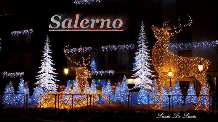 Salerno - Luci d'artista 2013 / 2014 (+плейлист)