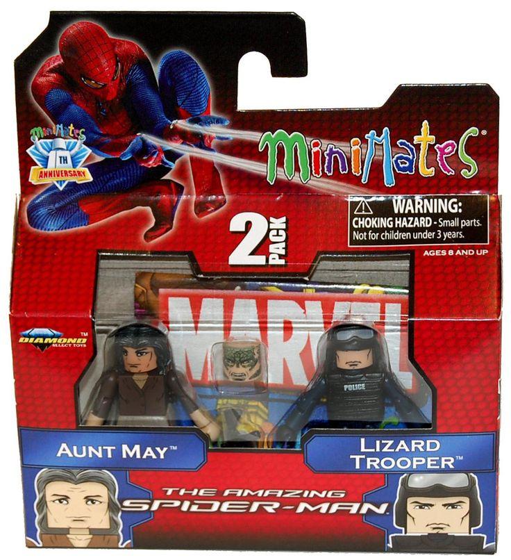 Marvel Minimates Amazing Spiderman Series 46 Aunt May & Lizard Trooper