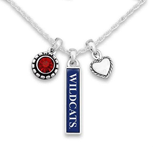 NCAA MEN'S BASKETBALL TOP 25  Arizona Wildcats Triple Charm Necklace with Heart, Crysta... https://www.amazon.com/dp/B01HIYZ1RC/ref=cm_sw_r_pi_dp_x_Va.EybK7R90DB