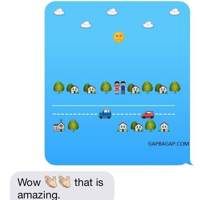 Emoji message ideas