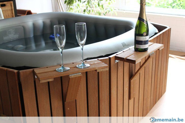 The 25 best ideas about jacuzzi gonflable on pinterest piscine gonflable - Jacuzzi exterieur 4 places ...