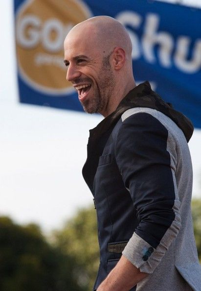 """Chris Daughtry Photos Photos - Celebrities at Universal Studios to do an interview for the show EXTRA in Universal City, California on October 25, 2013.<br /> Pictured: Chris Daughtry - Celebs Doing An Interview For """"Extra"""""""