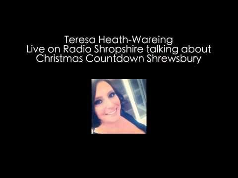 Christmas Countdown Shrewsbury - Teresa on BBC Radio Shropshire #SourceDesign #Christmas #Independent #Retail #Video #Shrewsbury #BBC #BBCRadio #Shropshire