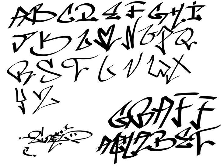 graffiti alphabet - Google Search