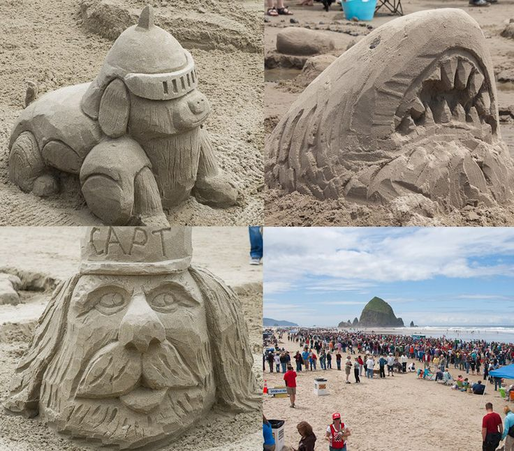 Best Annual Sandcastle Contest Images On Pinterest Sand Art - The 10 coolest sandcastle competitions in the world