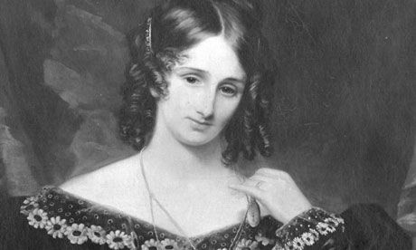 Mary Shelley, who wrote Frankenstein at just 17, after she ran off with the poet Percy Bysshe Shelley.