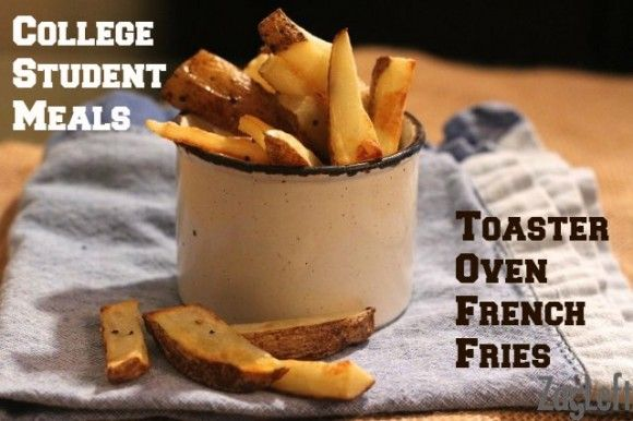 College Student Meals - Toaster Oven French Fries - ZagLeft