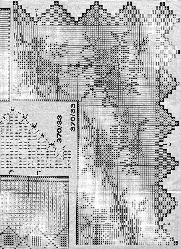 721 best crochet graphics charts and patterns images on Pinterest ...