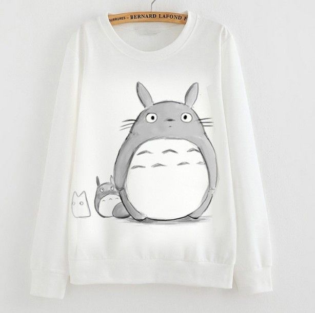 Totoro Sweatshirt - 6 Different Styles