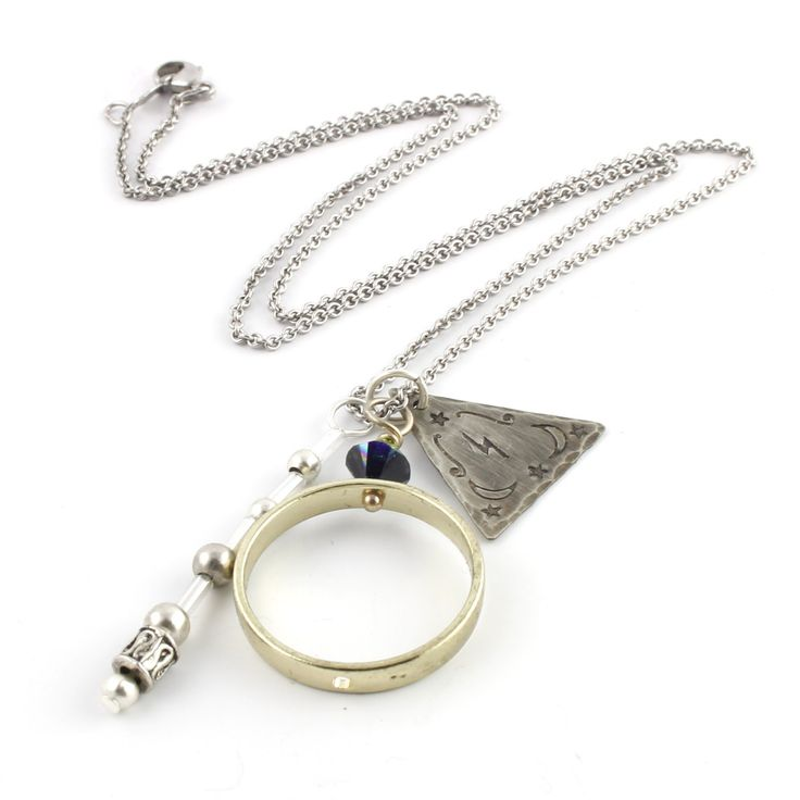 Deathly Hallows Necklace - Harry Potter Jewelry