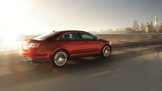 2014 Taurus SHO Sure-Footed Control