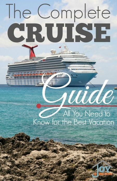 This cruise guide will help you get the most of your vacation and allow you to have the time you desire.