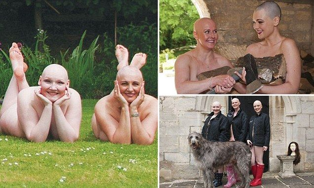 Bald is beautiful! Twelve women with no hair pose for nude calendar