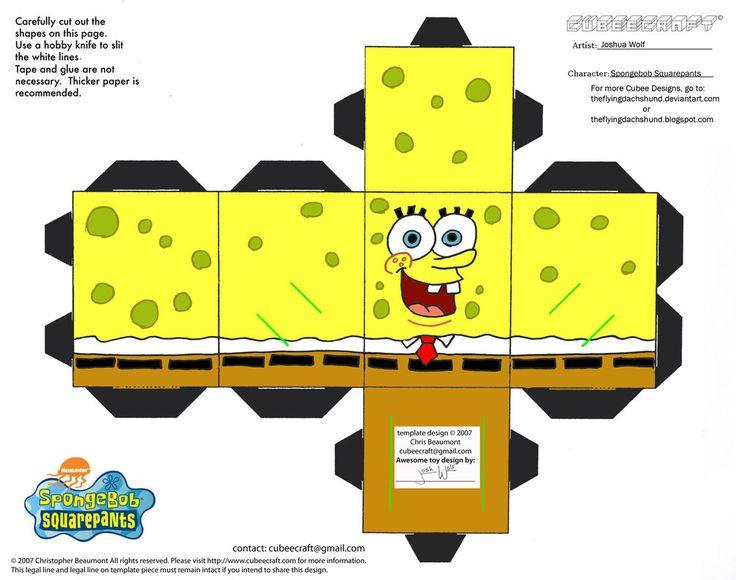 spongebob | SS: Spongebob Squarepants Cubee by TheFlyingDachshund