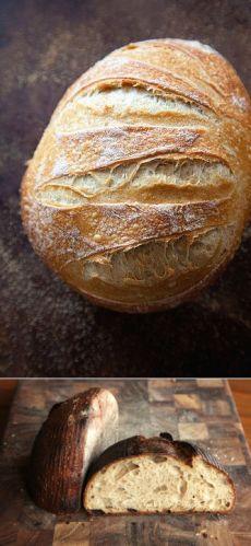 Старинные рецепты полезного и удивительно вкусного бездрожжевого хлеба | Golbis