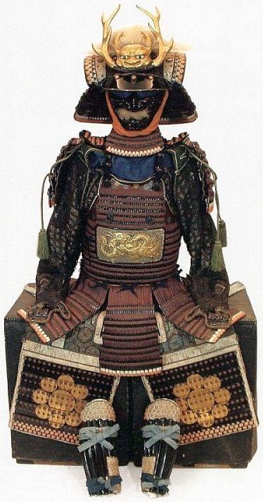 Hosokawa clan ni-mai dou gusoku, Edo period, 18th century.